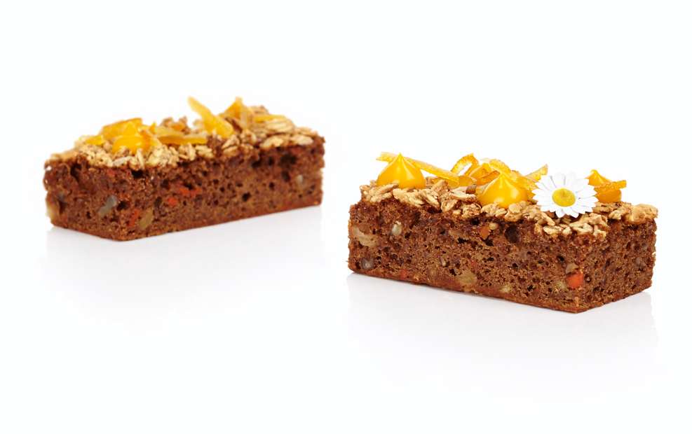 Carrot and Pineapple Cake | Professional Recipe